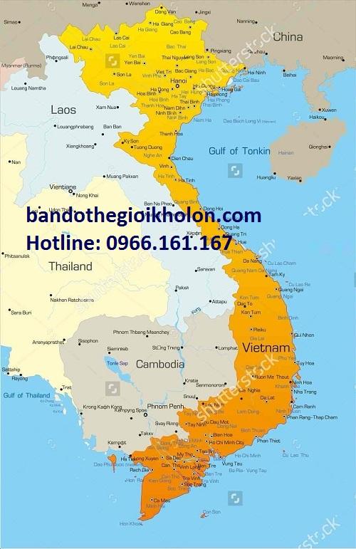 Mua bản đồ Việt Nam