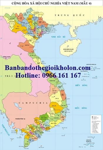 Bán bản đồ Việt Nam