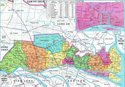 Từ TPHCM đi Tiền Giang bao nhiêu km