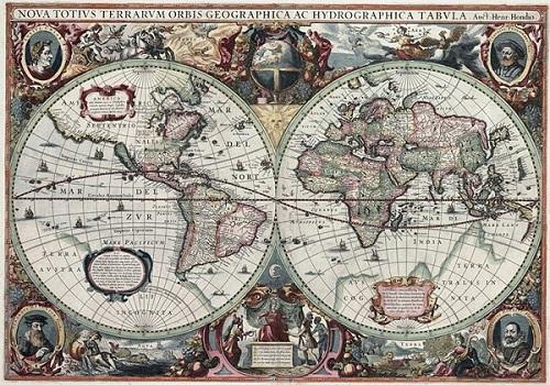 Bản đồ ra đời từ khi nào 12