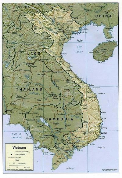 Việt Nam dài bao nhiêu km