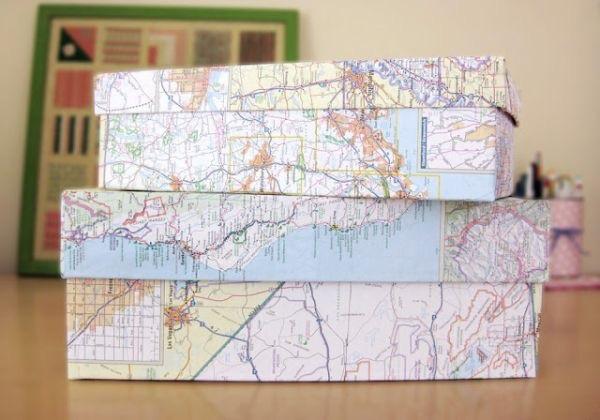 Dùng bản đồ các tỉnh miền Bắc làm quà biếu
