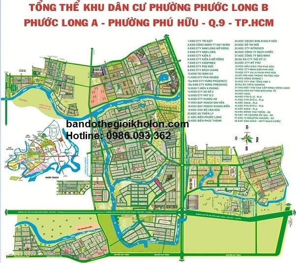 5 điều chưa biết về bản đồ quy hoạch phường phước long B