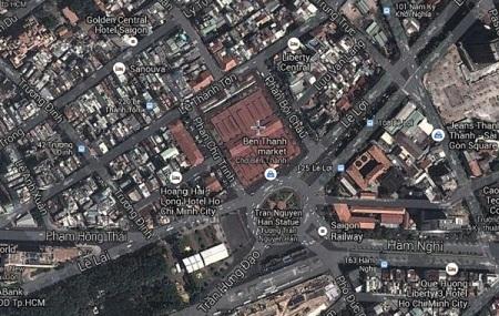 bản đồ từ vệ tinh