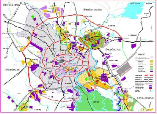 Hình ảnh các dự án trên địa bàn thành phố Hồ Chí Minh