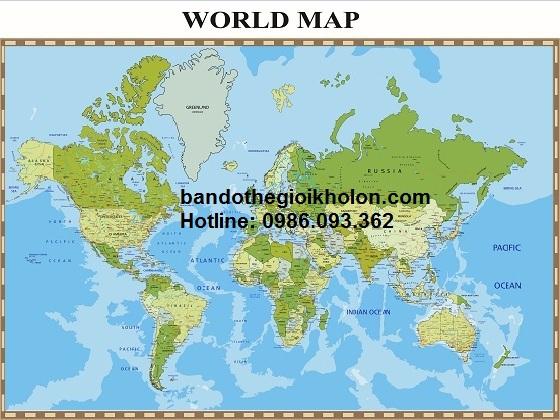 ở đâu bán bản đồ thế giới chất lượng