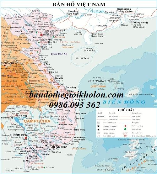 Cần mua bản đồ việt nam tại TP.HCM