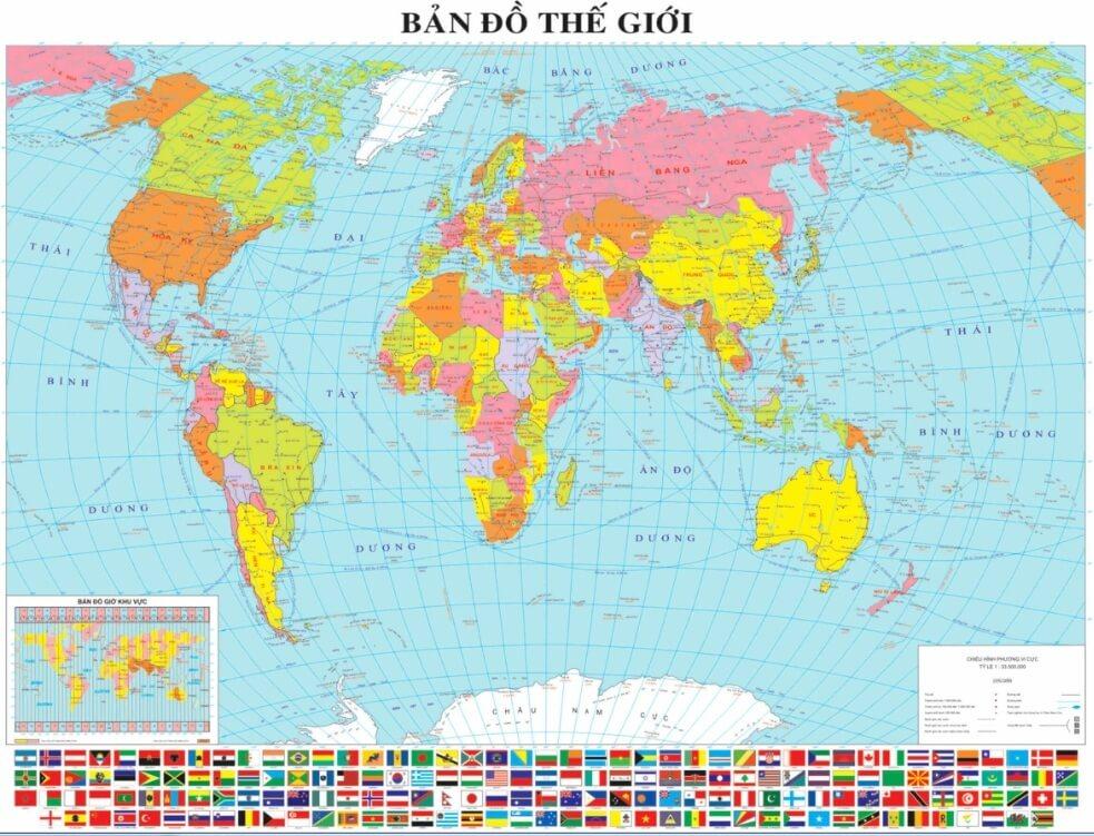 ban do the gioi tieng Viet