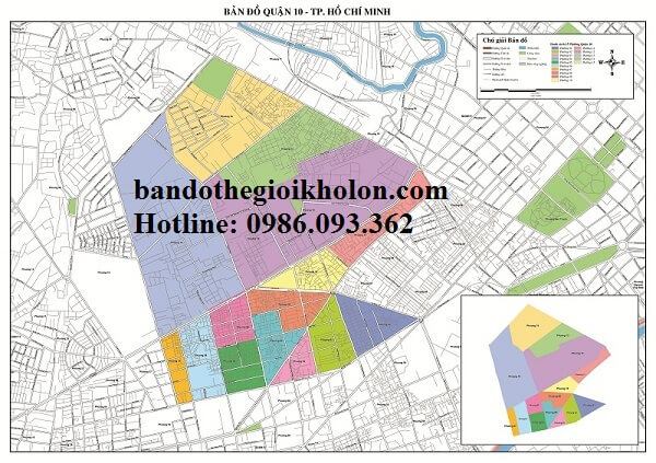 Bản Đồ Quận 10-Thành Phồ Hồ Chí Minh