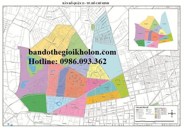 Bản Đồ Quận 11-Thành Phồ Hồ Chí Minh