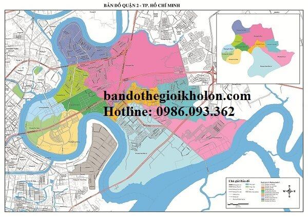 Bản Đồ Quận 2-Thành Phồ Hồ Chí Minh