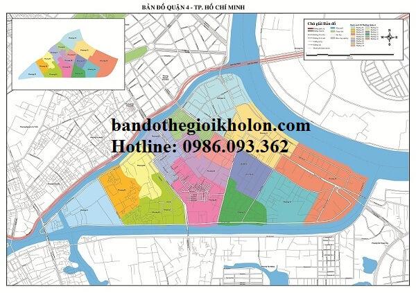 Bản Đồ Quận 4-Thành Phồ Hồ Chí Minh