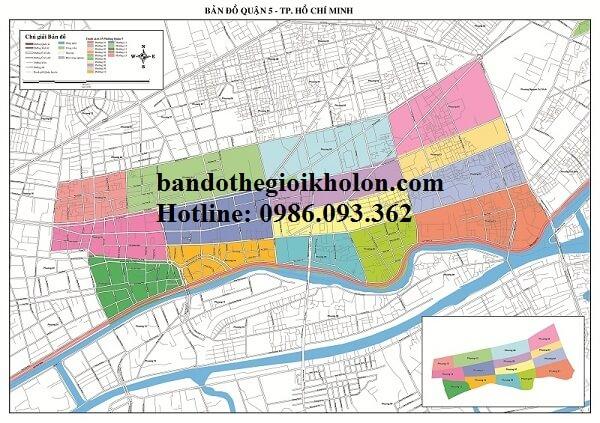 Bản Đồ Quận 5- Thành Phồ Hồ Chí Minh