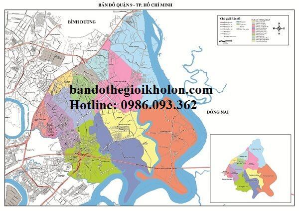 Bản Đồ Quận 9 – Thành Phồ Hồ Chí Minh