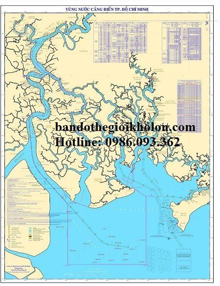 bản đồ cảng biển TPHCM