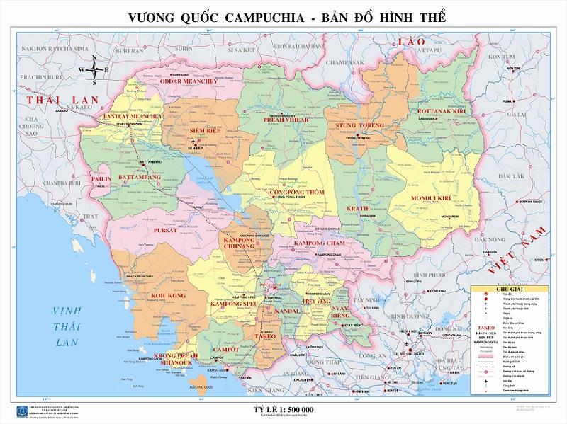 Bản Đồ Campuchia Và Những Thông Tin Liên Quan