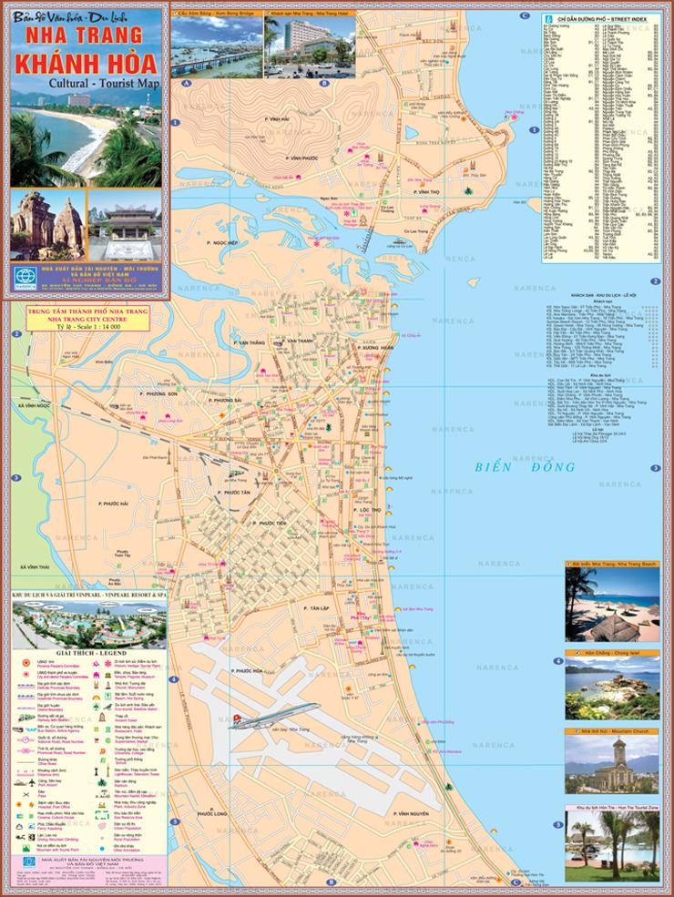 Bản đồ Nha Trang và những thông tin liên quan
