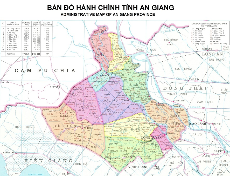 ban do An Giang