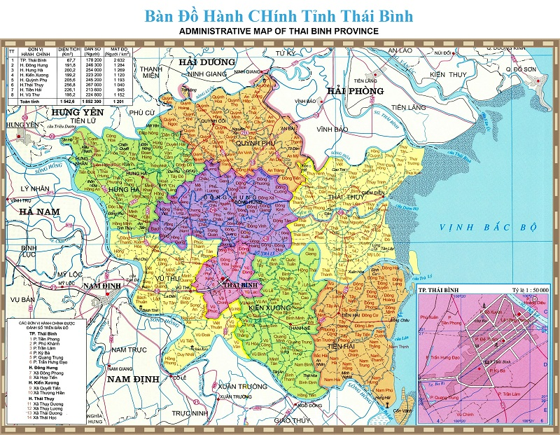 ban do thai binh