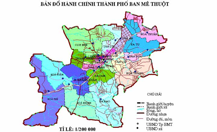 ban do buon me thuot