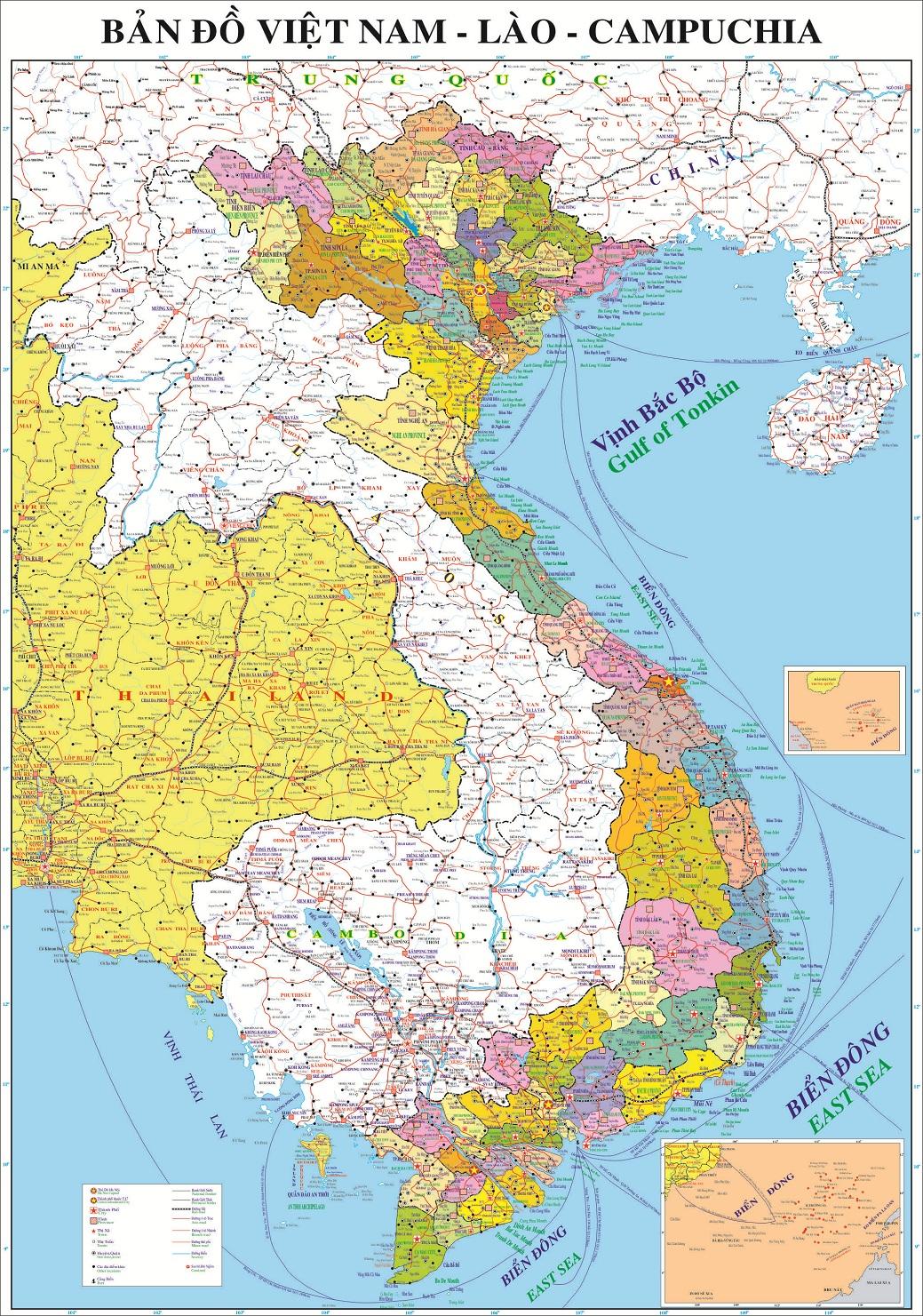 ban do cac tinh thanh Viet Nam