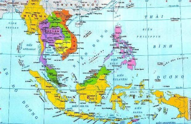 Giải Mã Bản Đồ Vị Trí Việt Nam Trên Thế Giới