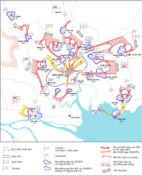Tìm Hiểu Bản Đồ Chiến Dịch Hồ Chí Minh