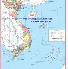 Bản Đồ Hành Chính Việt Nam