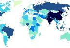 Bản Đồ Dân Số Thế Giới Thể Hiện Điều Gì
