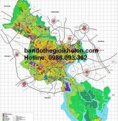 Bản đồ quy hoạch TP HCM đến năm 2025