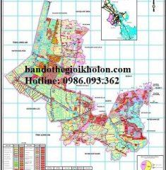 Bản đồ quy hoạch sử dụng đất huyện Bình Chánh