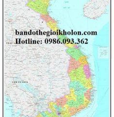 Bản Đồ Việt Nam mẫu 16